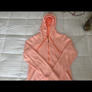 Lucy 3/4 zip pullover sweatshirt jacket